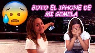 VENGANZA!!! BOTO  EL iPHONE DE MI GEMELA *llora*
