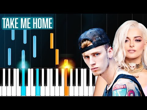 "Cover Lagu Machine Gun Kelly, X Ambassadors & Bebe Rexha - ""Home"" Piano Tutorial - Chords - How To Play - Cover STAFABAND"