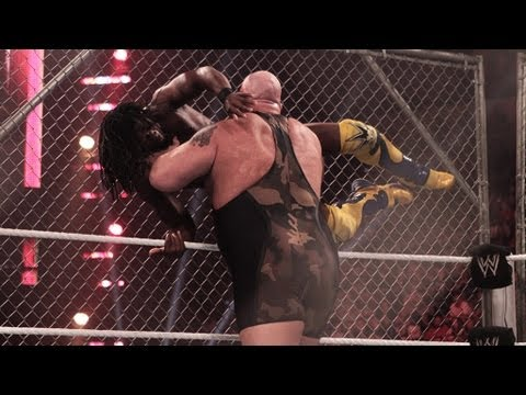 Kofi Kingston vs. Big Show - Steel Cage Match: Raw, June 11, 2012