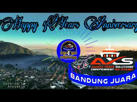Happy 4th Anniversary AXS Bandung Juara