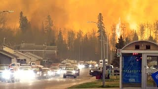 Alberta wildfires: All of Fort McMurray evacuated