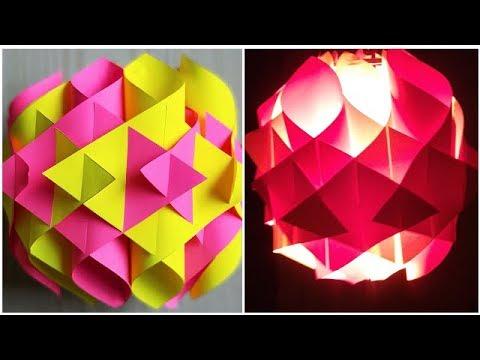DIY diwali lanterns / Diy paper lantern/lamp / Diwali home decoration ideas