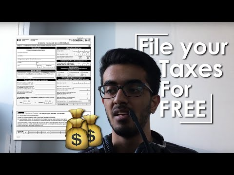 How To File Your Taxes In Canada For FREE | 2018 - 2019