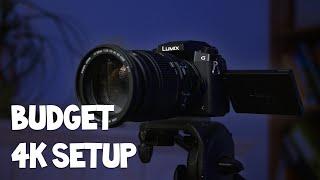 Professionelles 4k YouTube Kamera Setup unter 500€