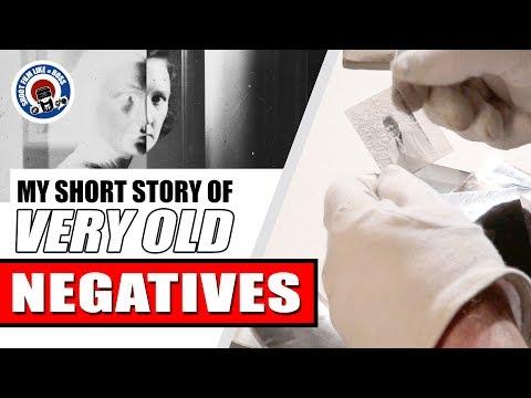 Very Old Negative Find - A Short Story