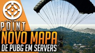 WATCH DOGS 3 CHEGANDO E NOVO MAPA DE PUBG EM SERVIDOR - CENTRAL POINT