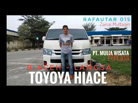 Review Toyota HIACE Banda Aceh
