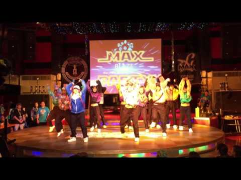 BLAZE of GROWLY in台湾  MAX PARTY コンテスト部門 2nd PLACE