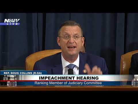 FAKE HEARING: Doug Collins GOES OFF On Democrats At Impeachment Hearing
