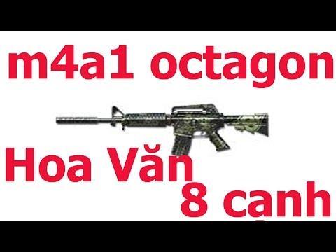 [ Bình Luận CF] - M4a1 - S -  Octagon CaMo - Set Màu Ms Nhất Của VTC - Thư Top_ZomBie