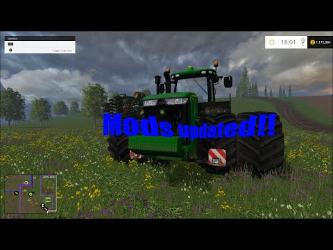 Farming Simulator 2015 Update On The Map And Mods