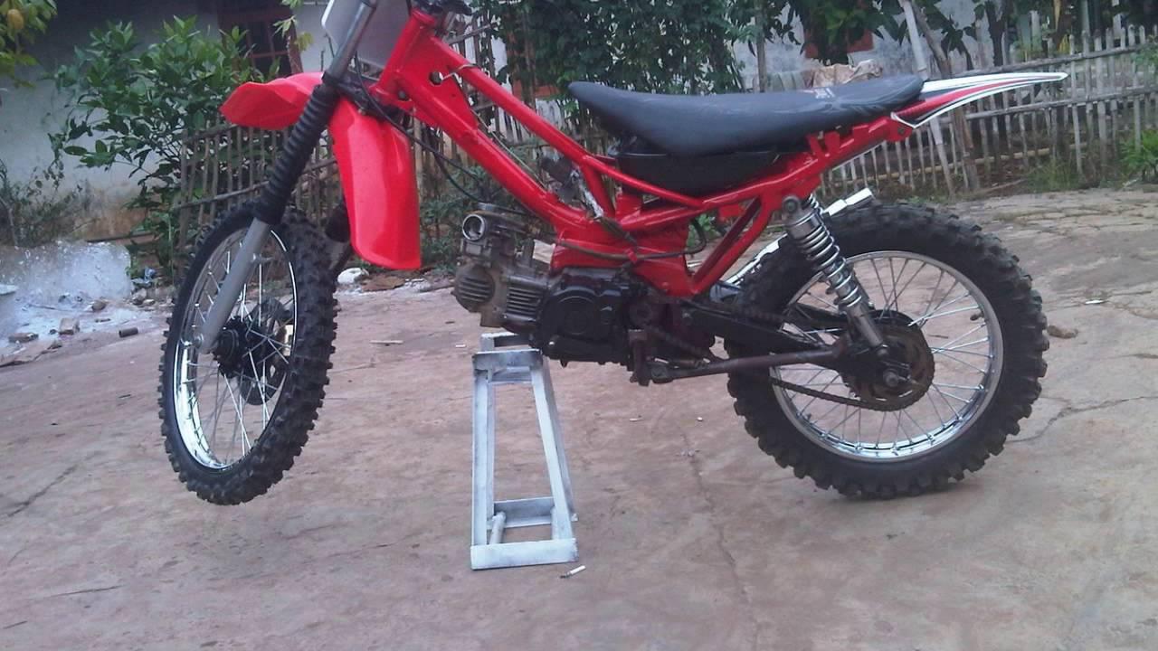 Video Modifikasi Motor Yamaha Vega Modif Trail Gastrack