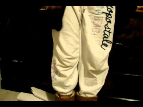 c292c38f775d HOW TO TUCK DIFFERENT TYPES OF SWEAT PANTS IN UGGS! - YouTube
