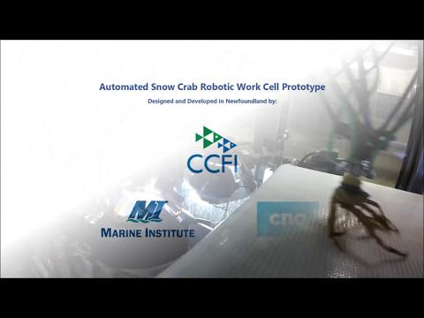 Marine Institute - Crab Automation Robotics