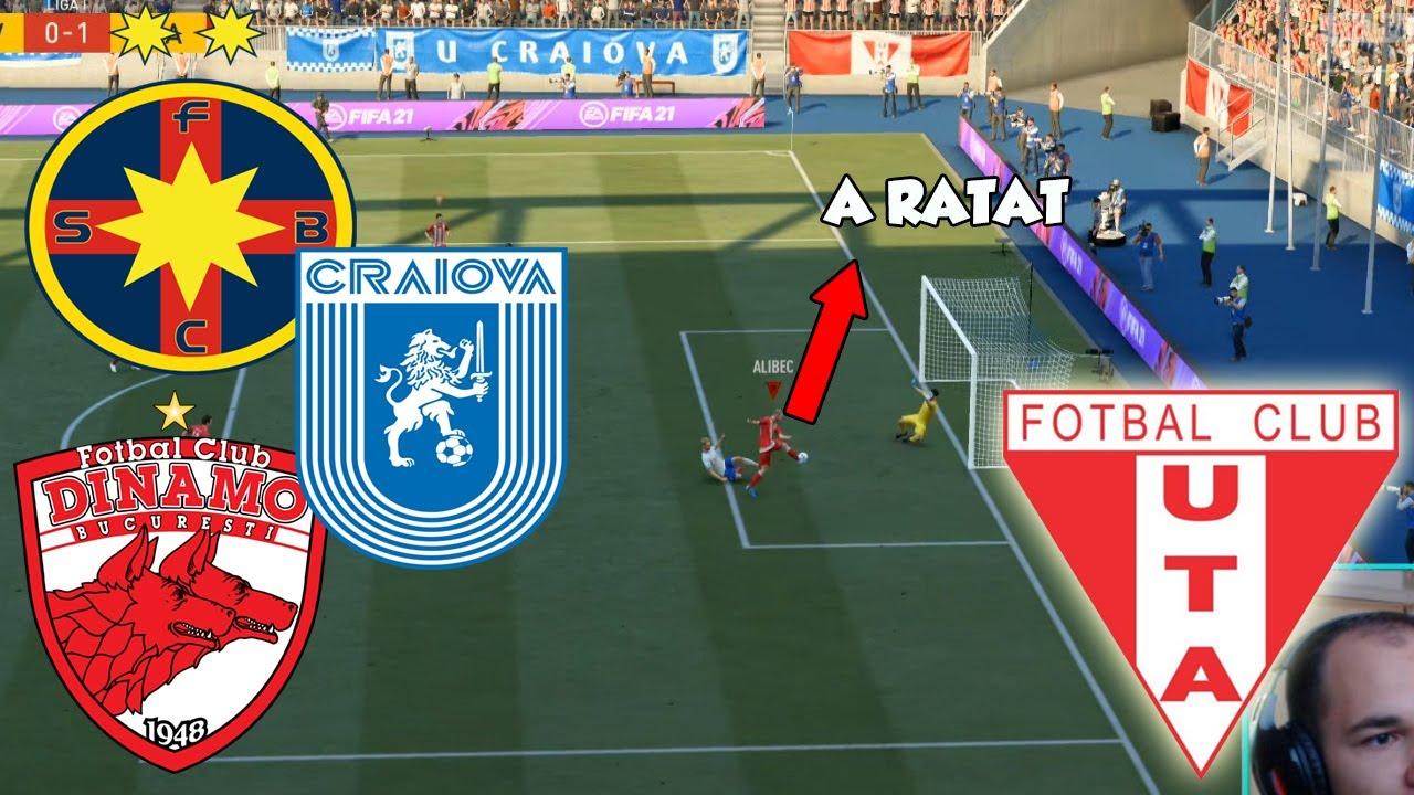 MECIURI NEBUNE CU FCSB SI DINAMO / CARIERA CU UTA ARAD LA FIFA 21 #3