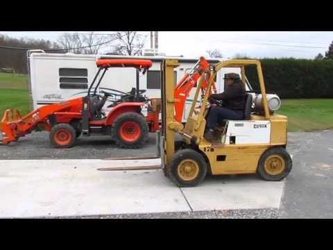 Clark CFY40B 4,000 # LP Forklift