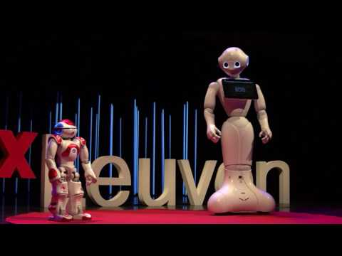 What Robots Really Think About Humans... | Zora & Pepper | TEDxLeuven