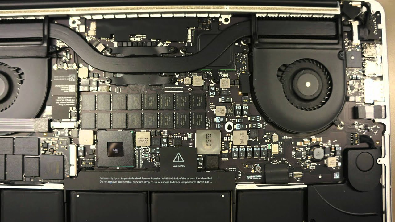 Macbook Pro Retina Cpu Thermal Paste Removal Youtube