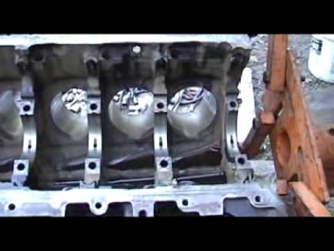 How to build your 54 ford motor - YouTube
