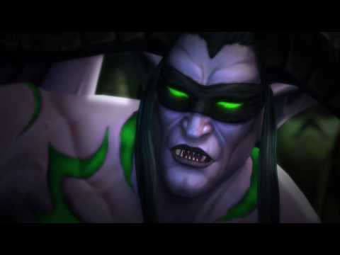 Illidan's Demise In-game Cinematic