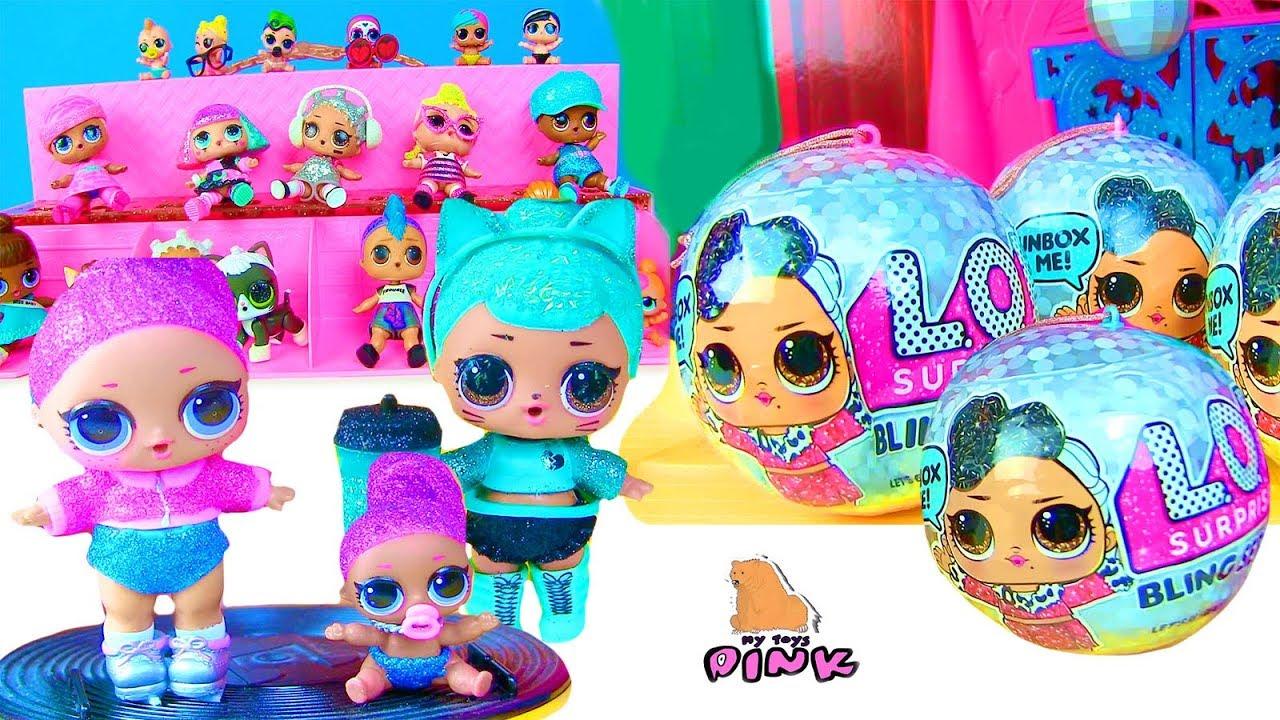 КОНКУРС КРАСОТЫ! LOL SURPRISE DOLLS! Блестящие Куклы ...