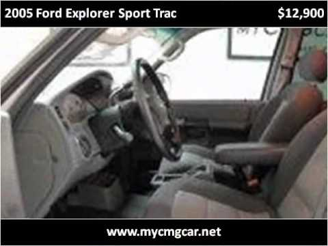 2005 Ford Explorer Sport Trac Used Cars Stuart FL