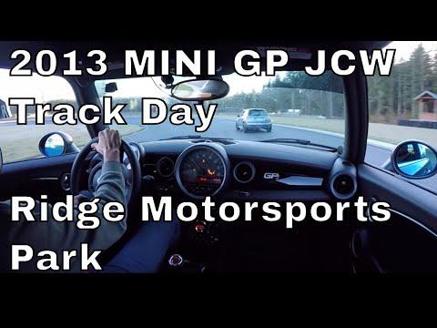Ridge Motorsports Park in a 2013 MINI Cooper GP