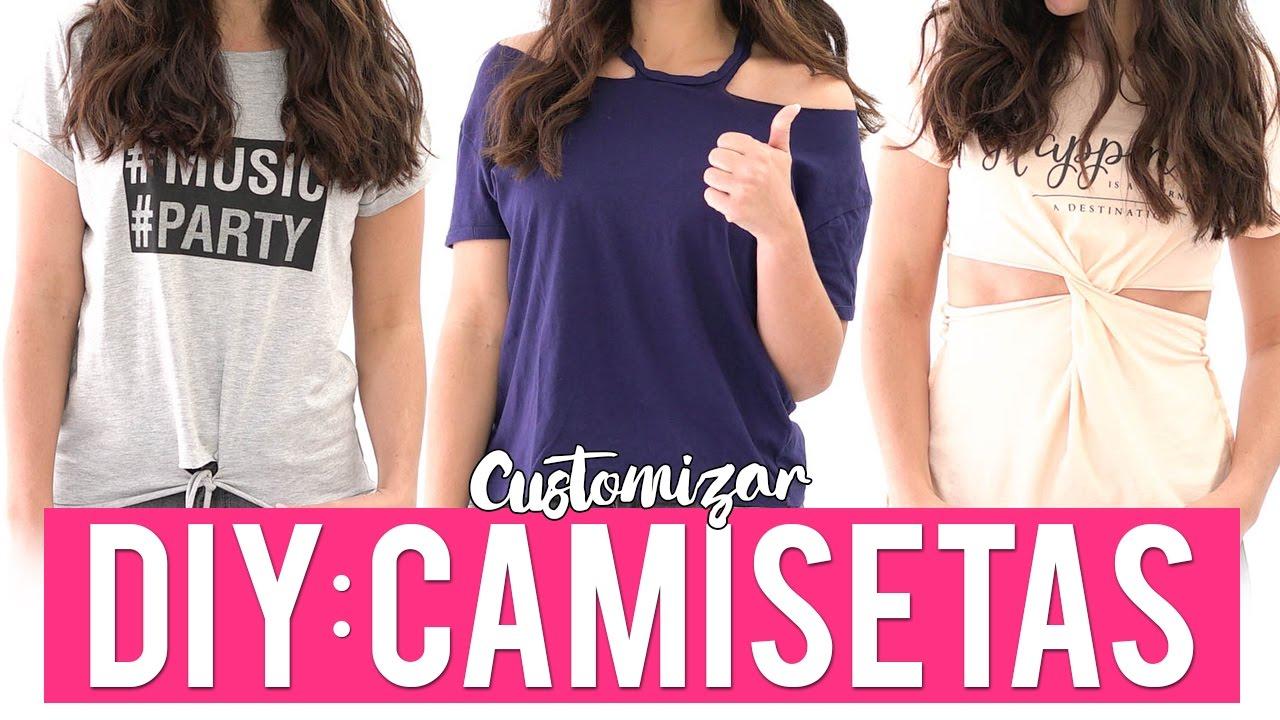 b7d2e99efef8e 3 ideas para customizar camisetas