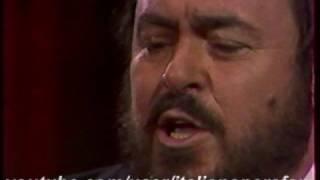 Luciano Pavarotti - Bellini - Vaga Luna - Paris - 1985