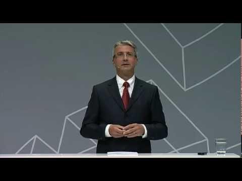 Audi Urban Future Summit: Rupert Stadler, Vorstandsvorsitzender Audi