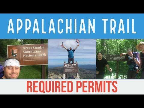 Permits Required To Thru Hike The Appalachian Trail