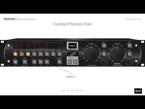 SPL Hermes Mastering Router | Video Manual (English)