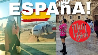 HOLA! FIRST TIME IN SPAIN | Martha Jante Vlogs