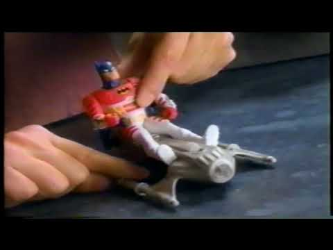 The Adventures of Batman  Robin Duo Force Toy TV Commercial