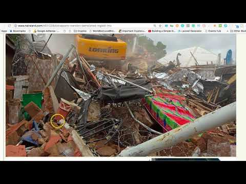 ROCHAS DEMOLISHES MANSION OF KIDNAPPERS IN IMO STATE