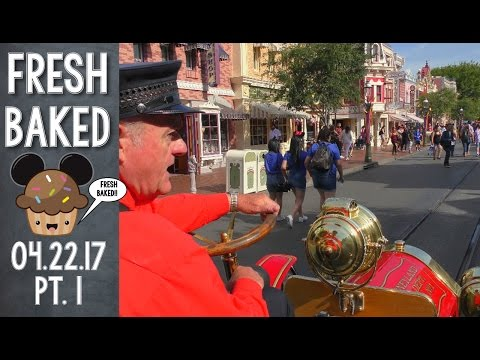 PERFECT start to a Disneyland morning with Dale and the Fire Truck | 04-22-17 Pt. 1 [DL]