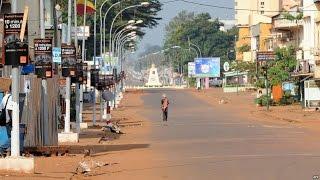 バンギは、資本と中央アフリカ共和国の最大都市、ウバンギ川、貿易、ショッピングセンターです
