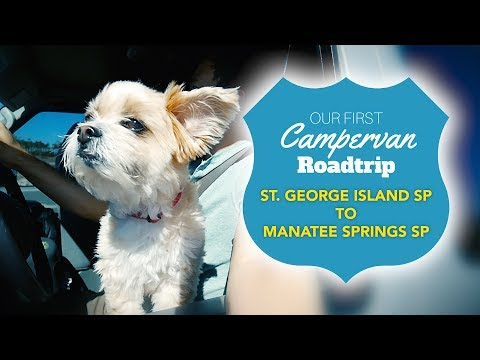 3. Florida Road Trip- St  George Island State Park to Manatee Springs State Park
