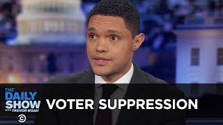 Voter Suppression & The GOP's Indirect Racism - Between the Scenes | The Daily Show