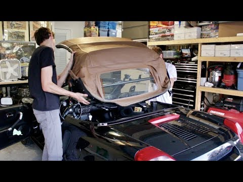 Toyota Mr2 Spyder Convertible Top Removal