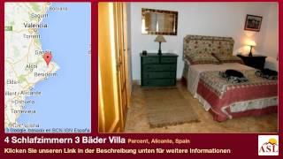4 Schlafzimmern 3 Bäder Villa zu verkaufen in Parcent, Alicante, Spain