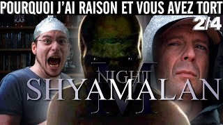 PJREVAT - M. Night Shyamalan : Incassable & Signes (2/4)