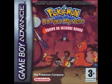 pokemon donjon mystere equipe de secours rouge gba rom