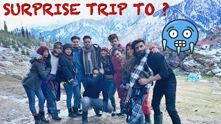 Surprise Trip for MANAV to Manali ❤️ | ARSHFAM