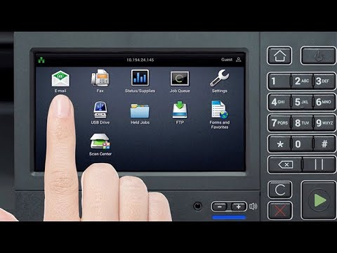 Lexmark Print And Scan—Printing And Scanning For 4.3-, 7-, And 10-inch Panel Printer Models