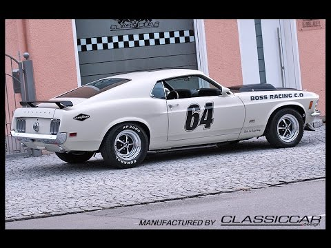 1970 Ford Mustang Mach 1 460cui 7 5l V8 Boss Racing