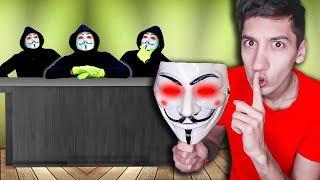 CILIO SE INFILTRA EN UNA REUNIÓN DE HATERS EN LA MANSIÓN *Estaba el hacker*