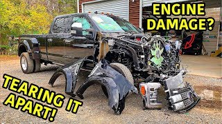 Rebuilding A Wrecked 2019 Ford F-450 Platinum Part 2