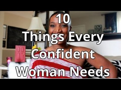 10 Things Every Confident Woman Needs  Youtube