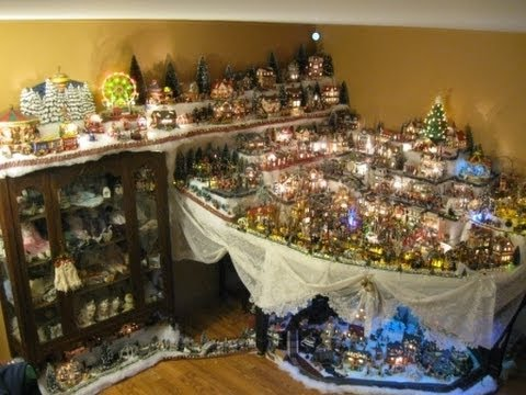 Christmas Village Lemax By Eveline Who Sings I Wish It